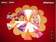 Barbie Fantasy Tale - Round Puzzle game