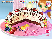 Play Ice cream cake chic Game