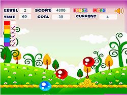 Rainbow Bubble game