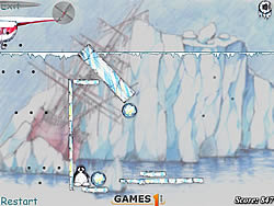 Save The Penguin  game