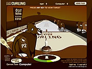 Play Brown cow curling Game