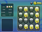 Play Sponge bob memory balls Game