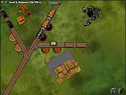 Railroad Shunting Puzzle game