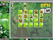 Play Ben 10 memory match Game