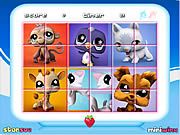 Play Littlest pet shop rotate puzzle Game
