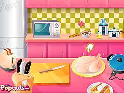 Roast Turkey in Thanksgiving Day game