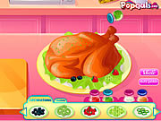 Play Roast turkey in thanksgiving day Game