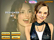 Play Keira knightley makeover Game