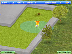 Eagle Minigolf game