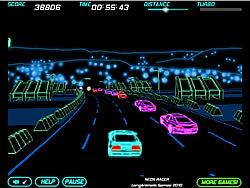 玩免费游戏 Neon Race