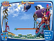 Play Lazy town the pirate adventure Game