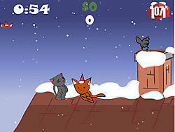 Christmas Cat game