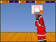 Play Santa hoops Game