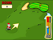 Play Christmas putt play Game