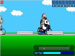 Gioca gratuitamente a Panzo Bicycle Race