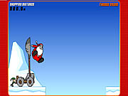 Play Slingshot santa Game