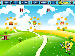 juego Spongebob Arrow Shooting