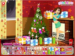 Wendy's Christmas game