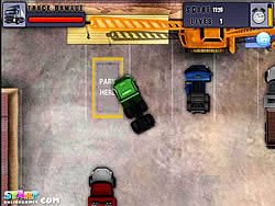 Heavy Truck Parking game