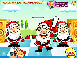 Santa Claus Dancing game
