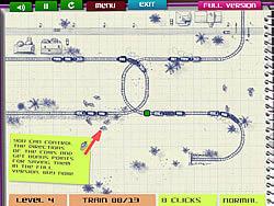 Paper Train game