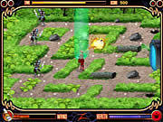 Play Power rangers gates of darkness Game