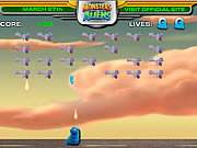 Monsters Vs Aliens Galaxhar Attacks game
