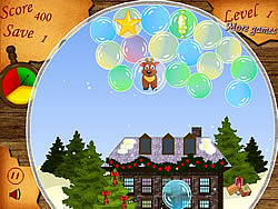 Christmas.Bubbles game