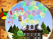Play Christmas-bubbles Game