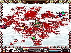 The Snow Runs Red game