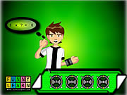 Ben 10 Mathrix game