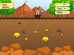 Ben 10 Gold Miner game