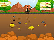 Play Ben 10 gold miner Game