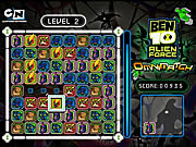 Play Ben 10 alien force omnimatch Game