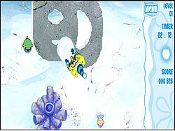 Sponge Bob Square Pants: Snowpants game