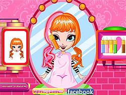 Cutie Trend - Christmas Hair Salon game