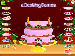 Jogar jogo grátis New Year 2011 Cake Decoration