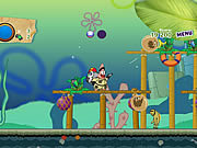Play Sponge bob and patrick-dirty bubble busters Game