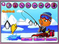 Sisi Ice Fishing game