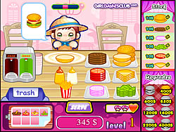 Cute Burger game