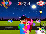 New Year Kiss game