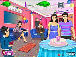 Birthday Kissing game