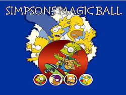 Gioca gratuitamente a Simpsons Magic Ball