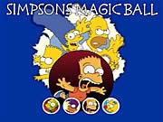 Play Simpsons magic ball Game