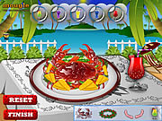 Play Tasty crab curry Game