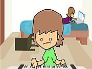 Watch free cartoon Trying To Make Music