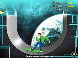 Ben 10 Super Skate game