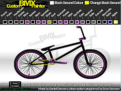 Custom BMX Painter game
