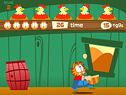 Gioca gratuitamente a Garfield Coop Catch