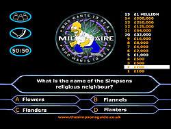 Gioca gratuitamente a Simpson's Millionaire